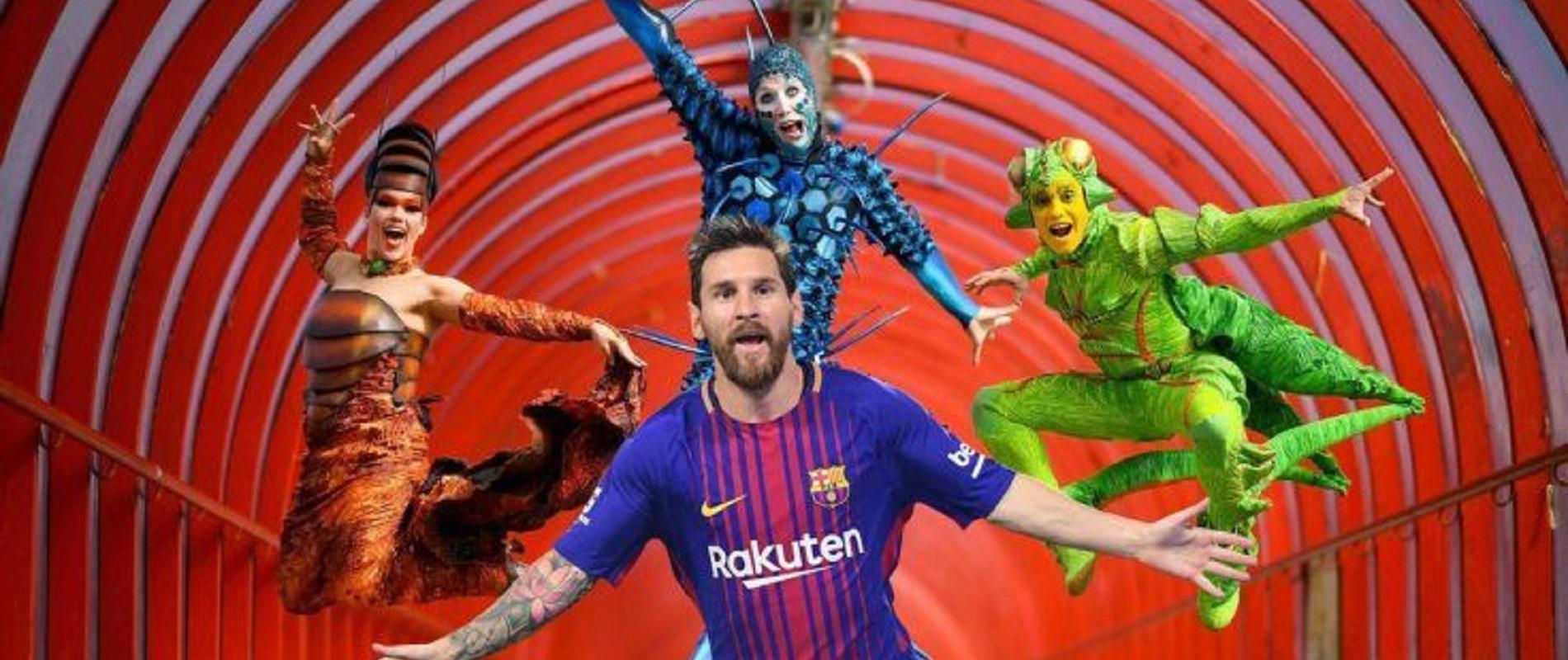 Messi 10 Cirque du Soleil en Buenos Aires
